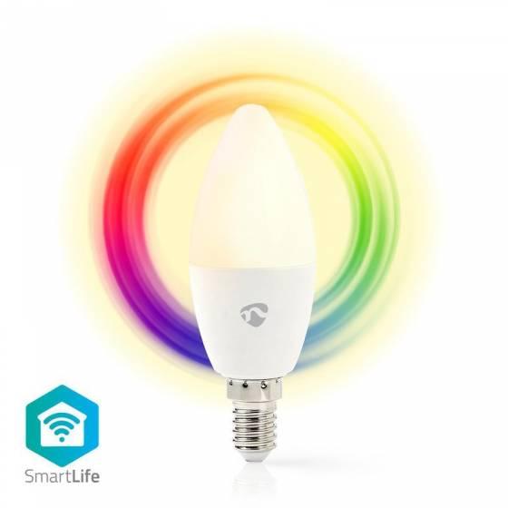 Ampoule connectée LED Nedis...